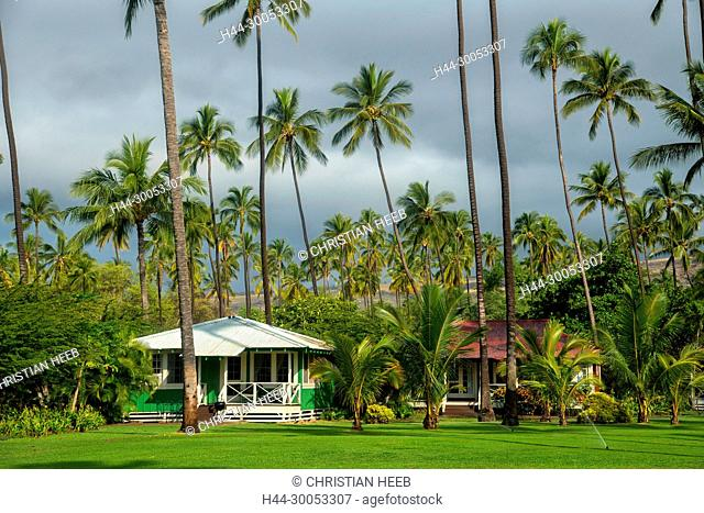 South Pacific, USA, Hawaii, Hawaiian, Island, Kauai, Waimea Plantation Cottages, Waimea