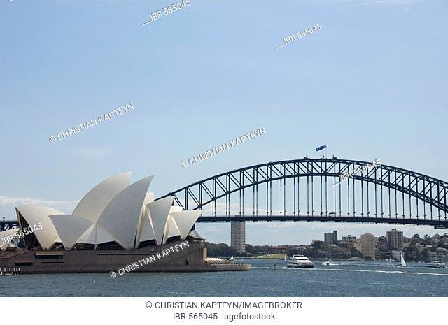 View of Sydney Harbour, Sydney, Australia