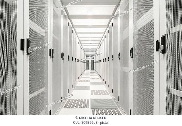 Interior of data centre