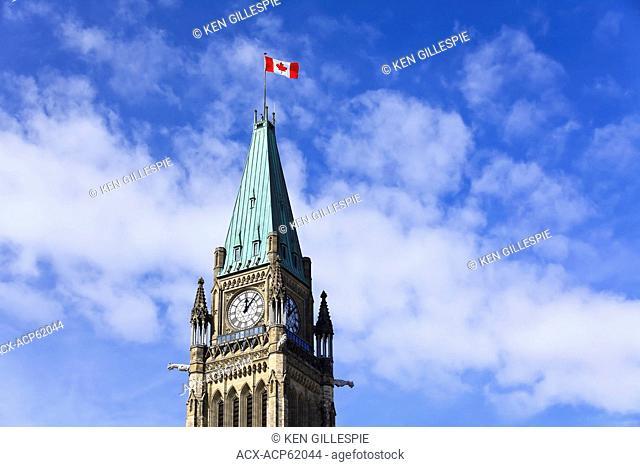 Peace Tower, Parliament Buildings, Ottawa, Ontario, Canada