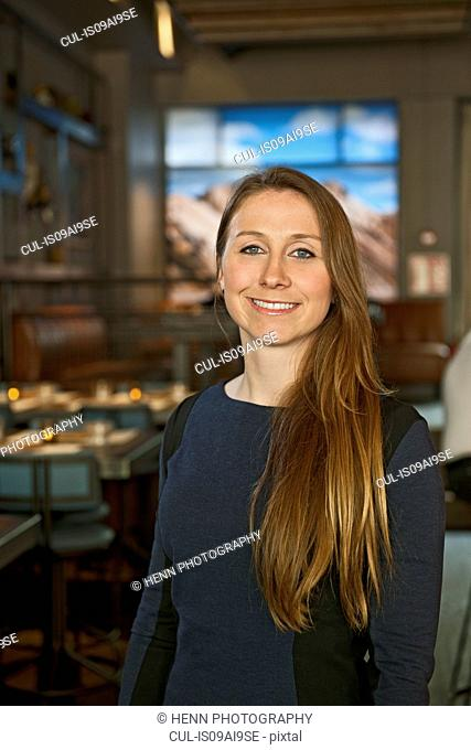Young businesswoman and bar owner, Reykjavik, Iceland
