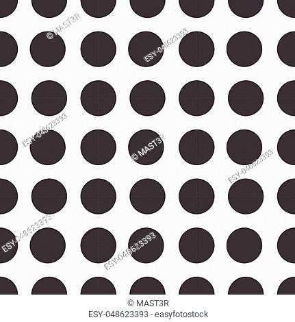 Seamless Pattern Abstract Geometric Ornament Style Of Background Vector Illustration