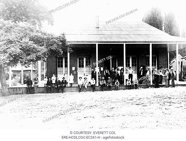 Boise County Courthouse, Idaho City, Idaho. ca. 1900
