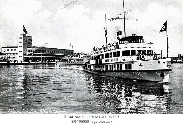 Friedrichshafen 1937 Baden-Wuerttemberg Germany
