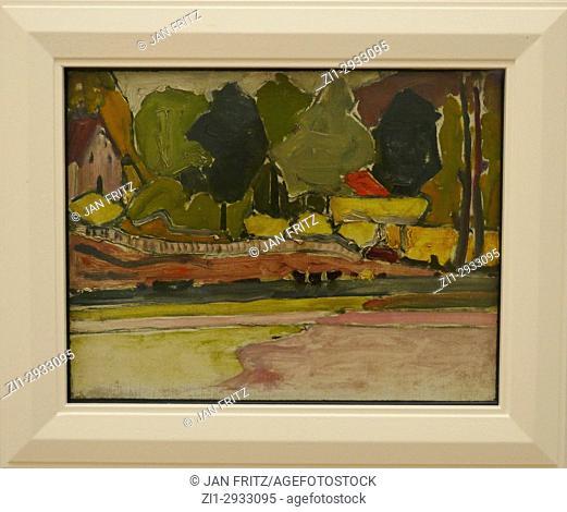 'On the shore', Piet Mondriaan