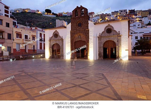 Nuestra Senora de la Asuncion church, La Gomera, Canary Islands, Spain