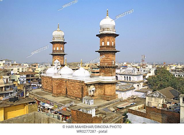 Jama Masjid built in 1837 by Qudsia Begum , Bhopal , Madhya Pradesh , India