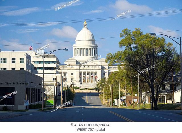 USA Arkansas Little Rock State Capitol