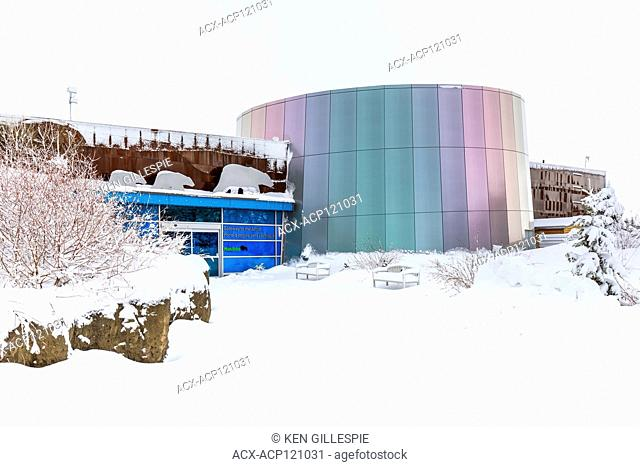Gateway to the Arctic, exhibit building at Assiniboine Park Zoo, Winnipeg, Manitoba, Canada