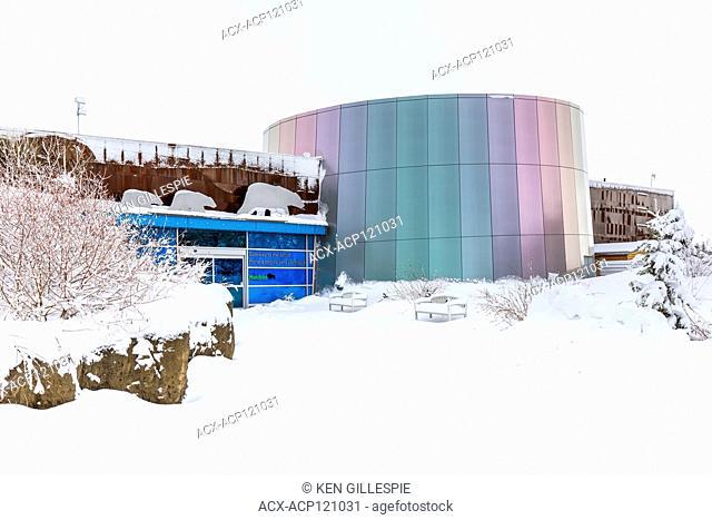 Gateway to the Arctic, exhibit building at Assiniboine Park Zoo, Winnipeg, Manitoba, Canada