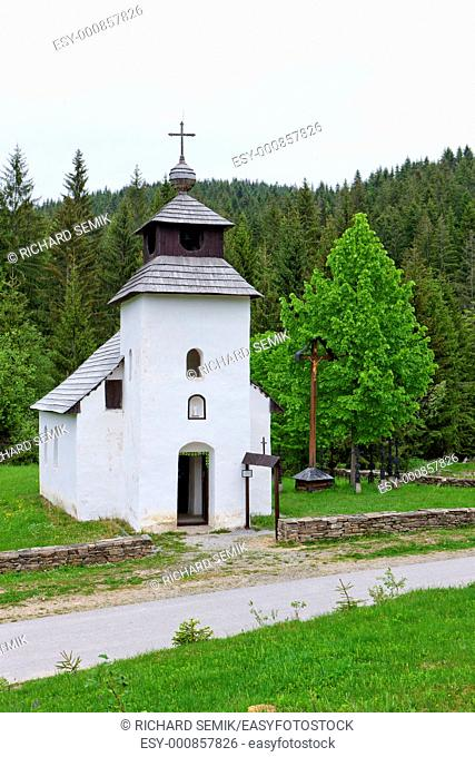 church in Museum of Kysuce village, Vychylovka, Slovakia