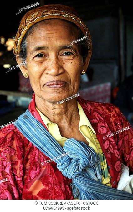 woman in Semarang, Java, Indonesia