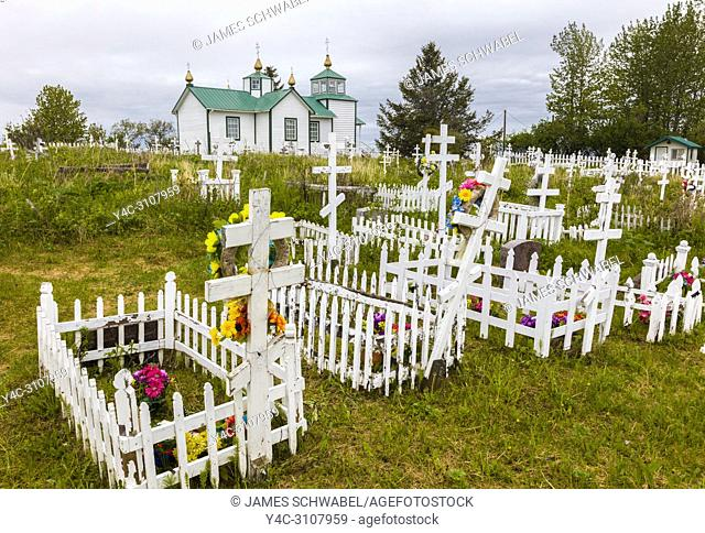 The Holy Transfiguration of Our Lord Chapel is a historic Russian Orthodox church located near Ninilchik on the Kenai Peninsula in Alaska built in 1901
