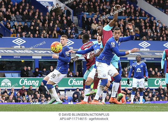 2016 Barclays Premier League Everton v West Ham Mar 5th. 05.03.2016. Goodison Park, Liverpool, England. Barclays Premier League