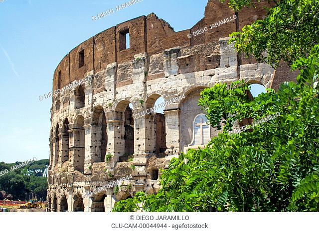 Roman Coliseum, Rome, Italy, Western Europe