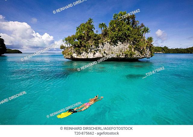 Snorkeling at Islands of Palau, Micronesia, Palau