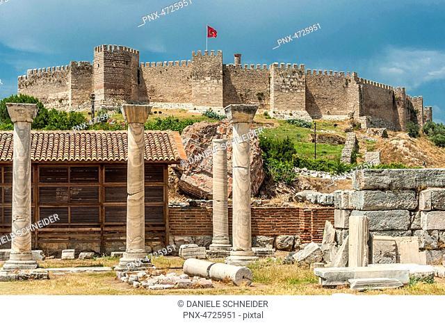 Turquie, Ephese, basilique Saint-Jean et forteresse byzantine