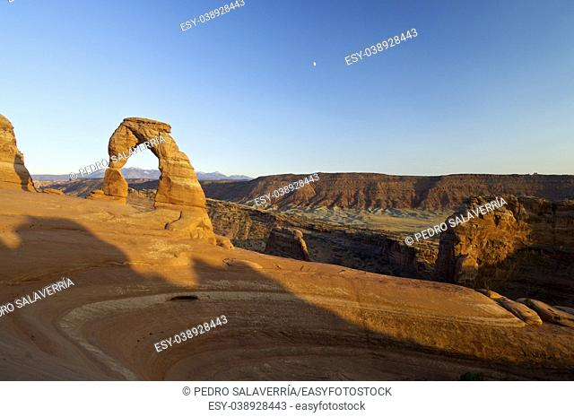Delicate Arch in Arches National Park, Utah, United States