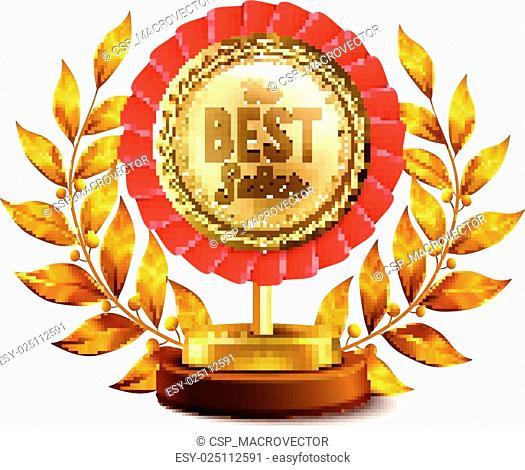 Best Seller Gold Medal Realistic Design