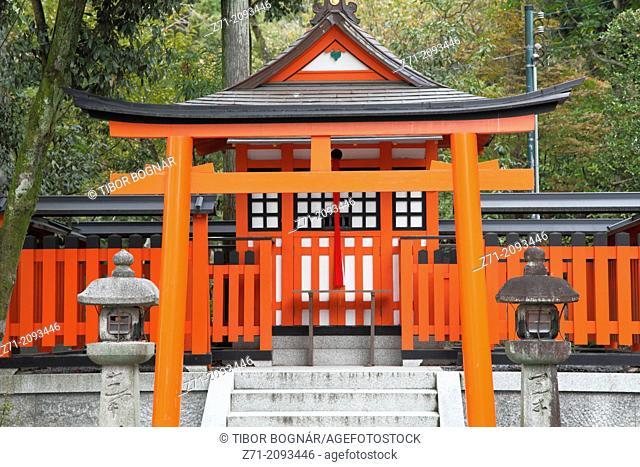 Japan, Kyoto, Fushimi Inari Taisha Shrine,