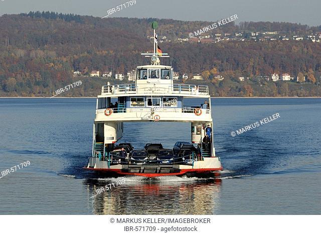 Ferry Ship MF Fritz Arnold - Baden Wuerttemberg, Germany Europe