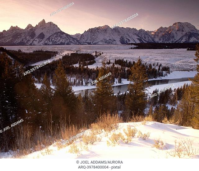 Tetons on New Year's Day