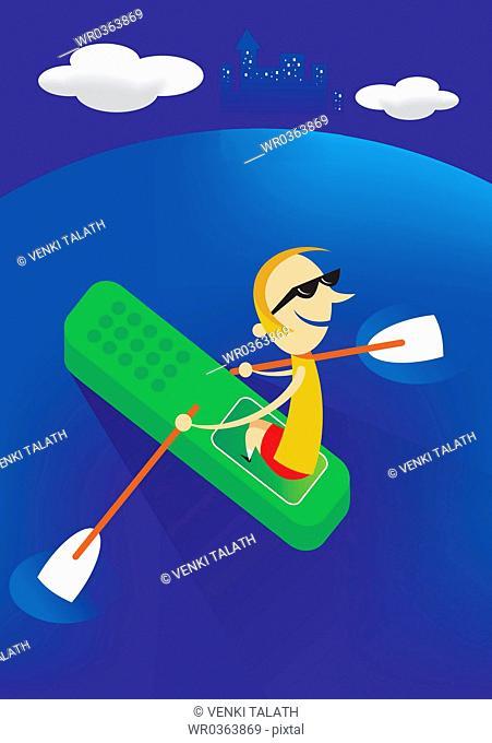 Cell Phone Canoe