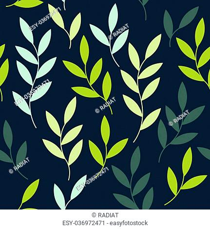 Vector seamless pattern background template card blue