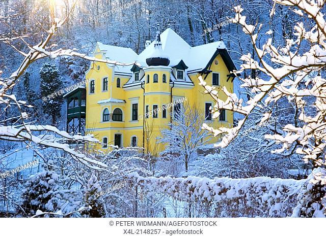 villa, Austria, Lower Austria, Weinviertel, Pulkau