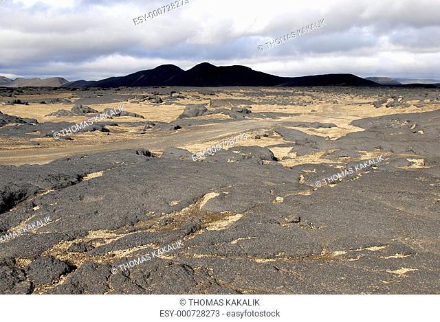 Missetäterwüste Island