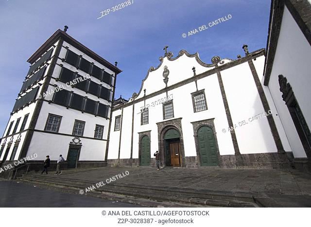 . . Convent of Our Lady of Hope or the St Christ , Ponta Delgada Sao Miguel island. Azores archipielago, Portugal