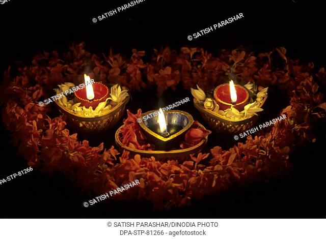 Diwali deepawali Festival , diwali card design , oil lamp
