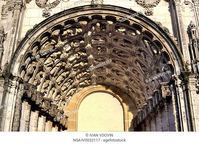 Portal of Saint-Michel Church, Dijon, Cte-d'Or departement, Burgundy, France