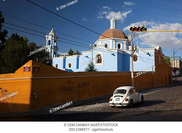 San Juan del Rio church in El Alto district, Puebla, Puebla State, Mexico, Central America