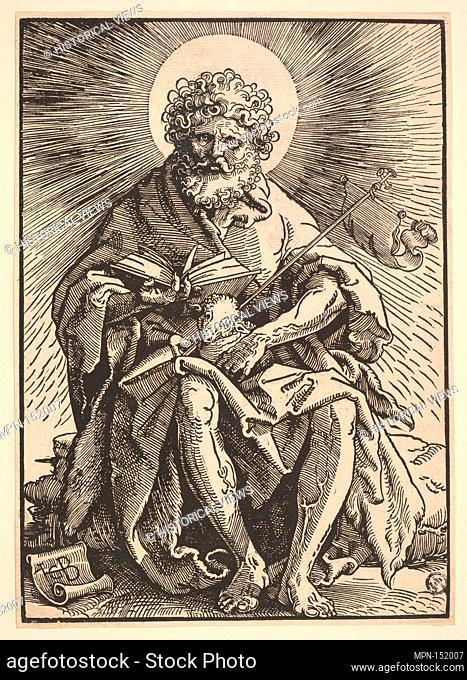 St. John the Baptist Holding the Lamb. Artist: Hans Baldung (called Hans Baldung Grien) (German, Schwäbisch Gmünd (?) 1484/85-1545 Strasbourg (Strassburg));...