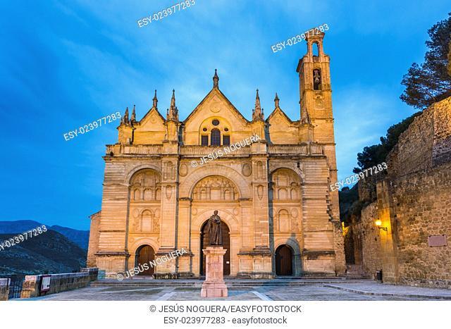 Collegiate Church of Antequera, Malaga. Spain