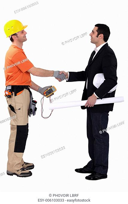 Architect and electrician