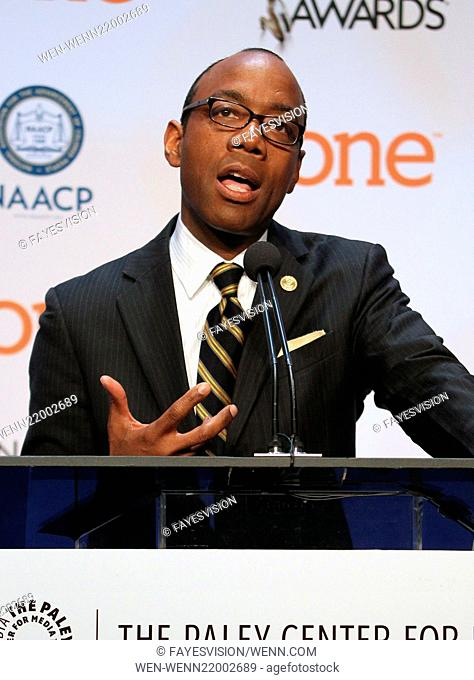 46th NAACP Image Awards - Nomination Announcement and Press Conference Featuring: Cornell William Brooks Where: Beverly Hills, California