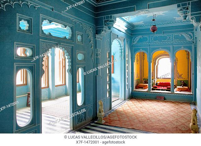 Zenana Mahal or queen's chambers ,City Palace,Udaipur, Rajasthan, india