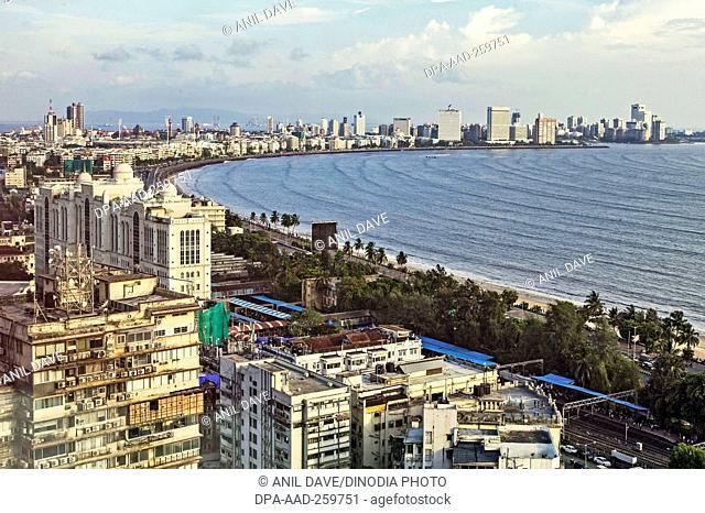 marine drive, Mumbai, Maharashtra, India, Asia
