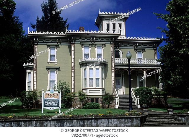 Moyer House, Brownsville, Oregon