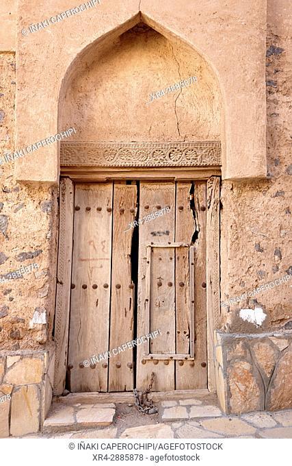 Ancient architecture. Qabil, Oman