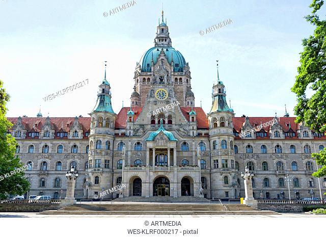 Germany, Lower Saxony, Hanover, New City Hall