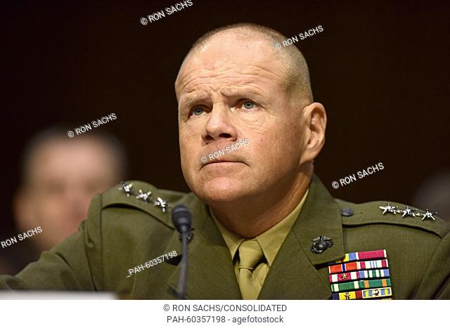 Lieutenant General Robert B. Neller, USMC appears before the United States Senate Committee on Armed Services considering his nomination as General and...