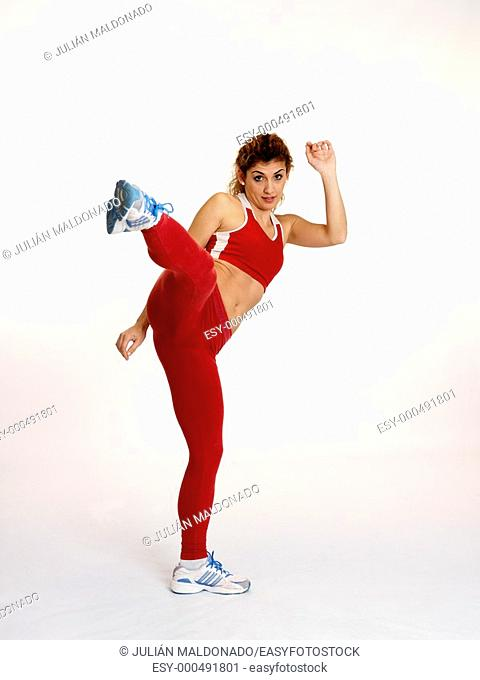 Women in good physical shape