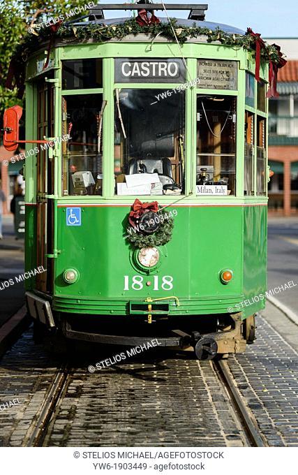 San Francisco Green Tram, USA