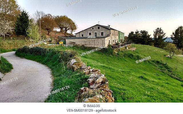 Camino de Santiago, Morgade, Lugo province, Spain