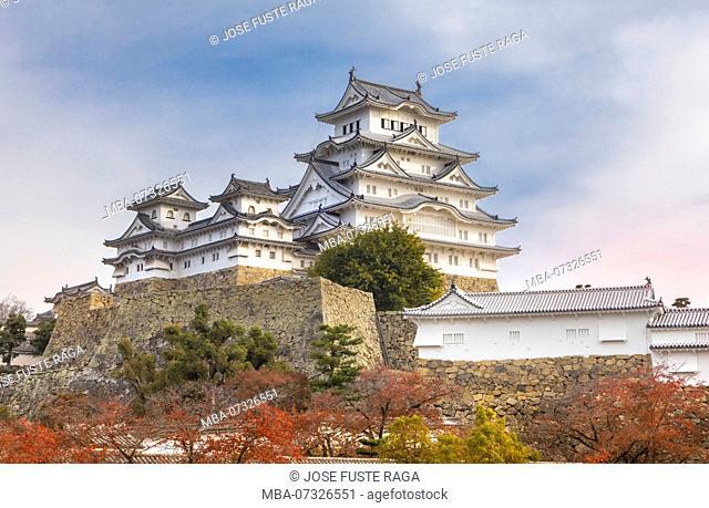 Japan, Himeji City, Himeji Castle, Shirozaki Castle