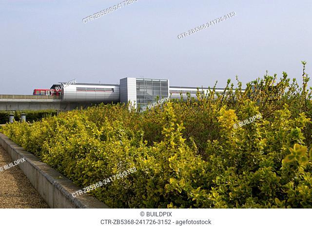 Pontoon Dock DLR station, East London