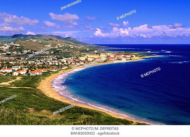 view over St. Kitts, Saint Kitts and Nevis